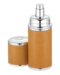 Logo Etched Leather Atomizer Silver Camel Creed