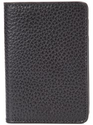 A.P.C. Bifold Vertical Wallet Men Cotton Leather Polyester One Size Black