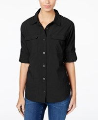 G.H. Bass And Co. Utility Shirt Black