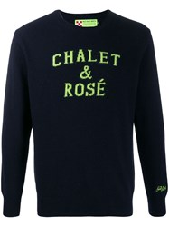 Mc2 Saint Barth Chalet Jumper Blue