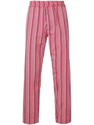 Paura Striped Tapered Trousers