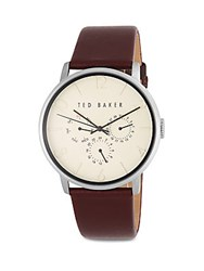 Ted Baker Stainless Steel Quartz Watch Silver
