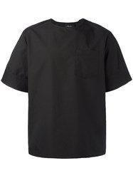 3.1 Phillip Lim Oversized T Shirt Black