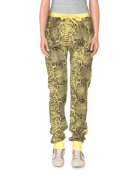 Happiness Trousers Casual Trousers Women Yellow