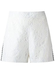 Martha Medeiros Lace Shorts White