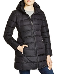 Add Down Hooded Down Coat Black