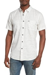 Rip Curl Men's Mainline Nep Woven Shirt Off White