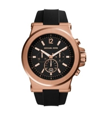 Michael Kors Dylan Rose Gold Tone Watch