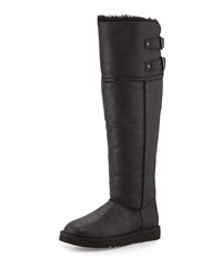 Devandra Shearling Lined Tall Boot Black Ugg Australia