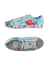 Springa Footwear Low Tops And Trainers Men Sky Blue