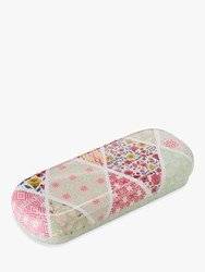 Heathcote And Ivory Fabric Flowers Glasses Case