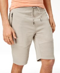 Inc International Concepts I.N.C. Men's Remix Knit Shorts Created For Macy's Beige