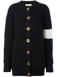 Chloe Oversized Cardigan Black