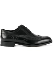 Dsquared2 Embroidered Derby Shoes Black