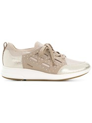 Geox Nebula Sneakers Nude And Neutrals