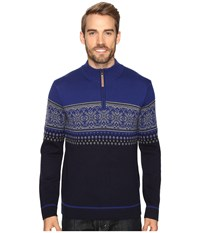Obermeyer Bryce 1 4 Zip Sweater Storm Cloud Men's Sweater Olive