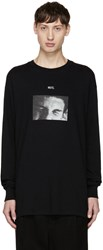 Song For The Mute Black Long Sleeve T Shirt