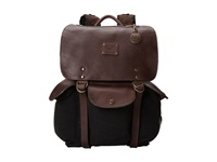 Will Leather Goods Lennon Backpack Black Brown Backpack Bags