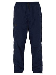 P.A.M. Leap Man Snap Side Track Pants Navy
