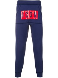 Dsquared2 Icon Track Pants Blue