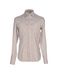 Ermanno Scervino Scervino Street Shirts Shirts Men Dove Grey