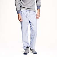 J.Crew Pajama Pant In End On End Cotton