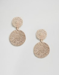 Oasis Filigree Through And Through Earrings Gold