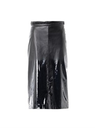Bottega Veneta Matt To Glossy Degrade Skirt