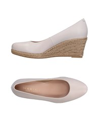 Marian Espadrilles Light Grey