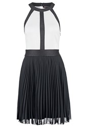 Morgan Rjusti Cocktail Dress Party Dress Noir Blanc Black