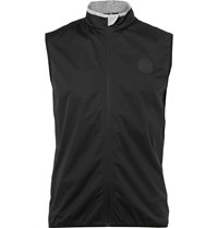 Iffley Road Sheen Shell Running Gilet Black