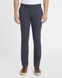Hackett Charcoal Slim Chinos Grey