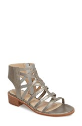 Isola 'S Genesis Cage Sandal Anthracite Leather