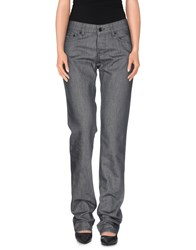 Prada Denim Denim Trousers Women Grey