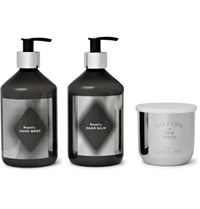 Tom Dixon Royalty Scented Candle Hand Wash And Hand Balm Set One Size Colorless