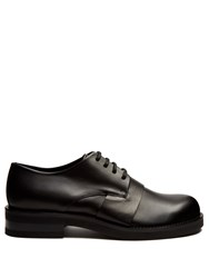 Marni Leather Derby Shoes Black
