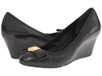 Cole Haan Tali Grand Bow Wedge 65 Black Women's Wedge Shoes