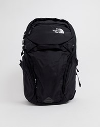 The North Face Router Backpack In Black Black