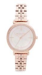 Michael Kors Cinthia Watch Rose Gold Mother Of Pearl