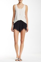 Jack Marty Lace Trim Short Black