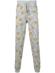Moschino Underbear Tracksuit Bottoms Grey