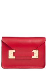 Sophie Hulme 'Mini' Envelope Leather Bag