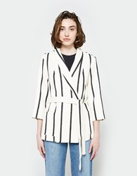 Just Female Sammy Blazer Stripe
