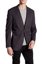 Kroon Bedford Two Button Notch Lapel Jacket Black