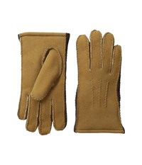 Ugg Sheepskin Side Wall Gloves Chestnut Multi Extreme Cold Weather Gloves Tan
