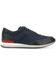 Moreschi Sparta Sneakers Leather Rubber Blue