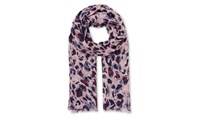 Whistles Lily And Lionel Animal Scarf Pink Multi