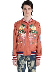 Gucci Embroidered Techno Bomber Jacket