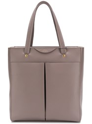 Anya Hindmarch Nevis Tote In Porcini Circus Grey
