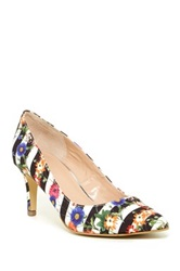 Kenneth Cole Reaction Bill Lated Printed Pump Black